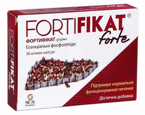 Фортифікат форте капсули 750 мг 30 шт