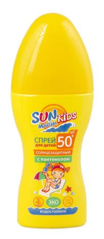 Sun Marina Kids Спрей сонцезахисний для дітей з пантенолом SPF-50+ 150 мл 1 флакон