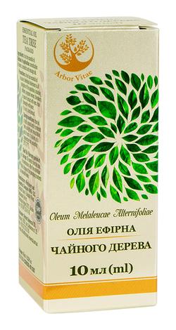 Arbor Vitae Олія ефірна Чайного дерева 10 мл 1 флакон