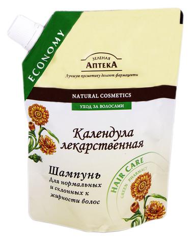Зелена Аптека Шампунь для жирного та нормального волосся Календула лікарська 200 мл 1 пакет