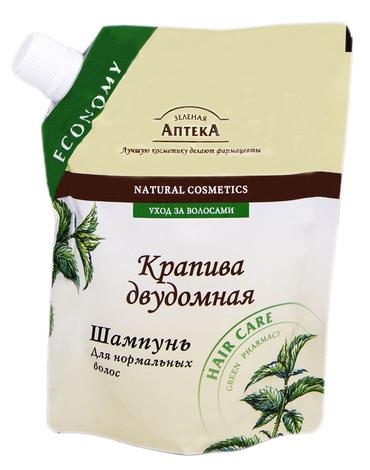 Зелена Аптека Шампунь для нормального волосся Кропива дводомна 200 мл 1 пакет
