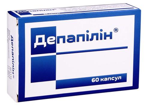 Депапілін капсули 60 шт