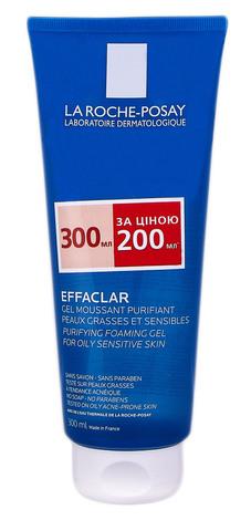 La Roche-Posay Effaclar Гель-мус для очищення проблемної шкіри 300 мл 1 туба