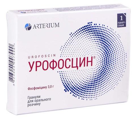 Урофосцин гранули для орального розчину 3 г 1 саше