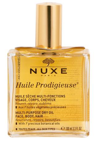 Nuxe Huile Prodigieuse Олія суха багатофункціональна для обличчя, тіла та волосся 100 мл 1 флакон