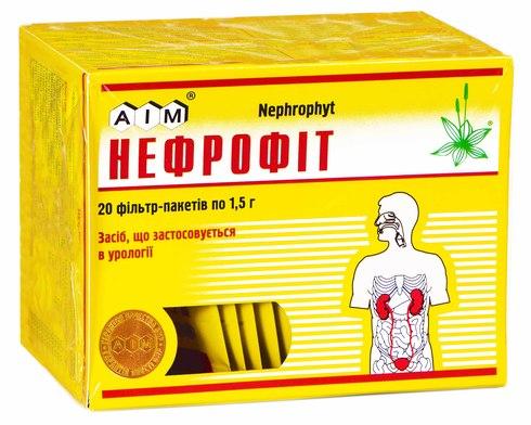 Нефрофіт збір 1,5 г 20 фільтр-пакетів