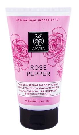 Apivita Rose Pepper Крем коригуючий для тіла, що підвищує пружність шкіри 150 мл 1 туба
