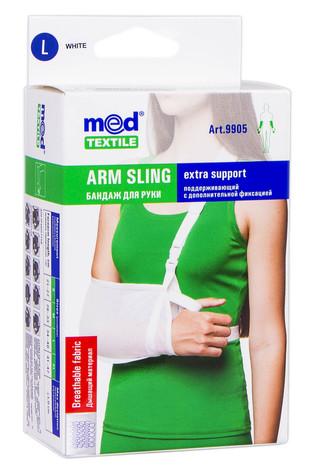 MedTextile 9905 Бандаж для руки підтримуючий з додатковою фіксацією розмір L 1 шт