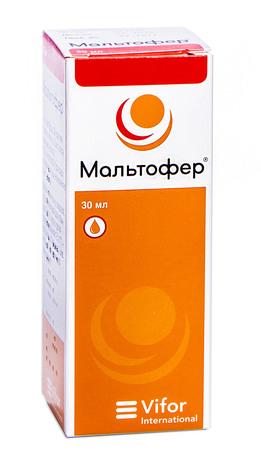 Мальтофер краплі оральні 50 мг/мл 30 мл 1 флакон