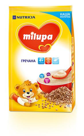 Milupa Каша молочна гречана з 4 місяців 210 г 1 пакет