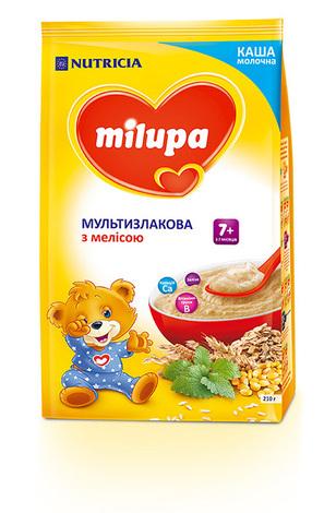 Milupa Каша молочна мультизлакова з мелісою з 7 місяців 210 г 1 пакет