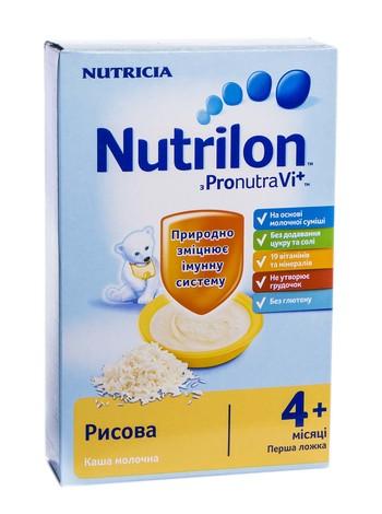 Nutrilon Каша рисова з 4 місяців 225 г 1 коробка