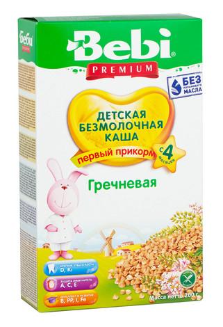 Bebi Каша безмолочна гречана з 4 місяців 200 г 1 пачка