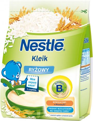 Nestle Каша безмолочна рисова з біфідобактеріями з 4 місяців 160 г 1 пакет