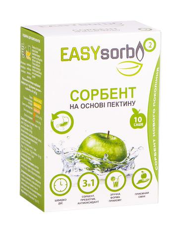 Сорбент EASYsorb порошок для орального розчину 10 саше