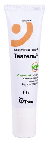 Теагель стерильний гель для щоденної гігієни повік та вій 30 г 1 туба