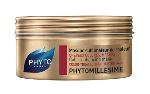 Phyto Phytomillesime Маска покращує колір фарбованого та мелірованого волосся 200 мл 1 банка