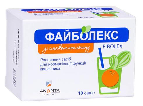 Файболекс зі смаком апельсину порошок 10 саше