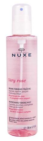 Nuxe Very Rose Тонізуючий освіжаючий спрей для обличчя 200 мл 1 флакон