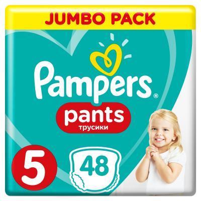 Pampers Pants 5 Junior Підгузки-трусики дитячі 12-17 кг 48 шт