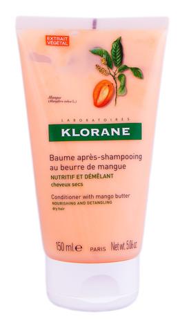 Klorane Бальзам живильний для сухого та пошкодженого волосся з маслом манго 150 мл 1 туба