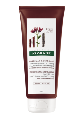 Klorane Бальзам-ополіскувач зміцнює та стимулює ріст волосся з екстрактом хініну 150 мл 1 туба