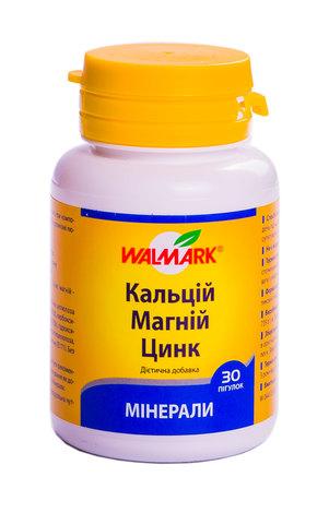 Кальцій-магній-цинк таблетки 30 шт