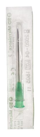 BD Голка Мікроланс стерильна G21 0,8х40мм 1 шт
