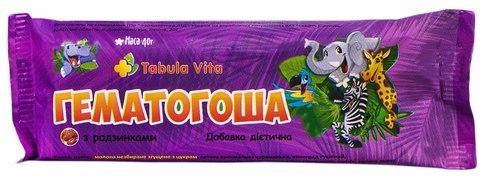 Tabula Vita Гематогоша з родзинками плитка 40 г