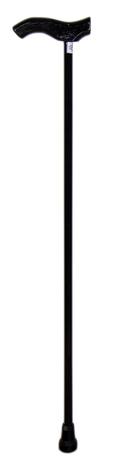 Рипор Палиця інвалідна металева з пластиковою ручкою чорна 1 шт