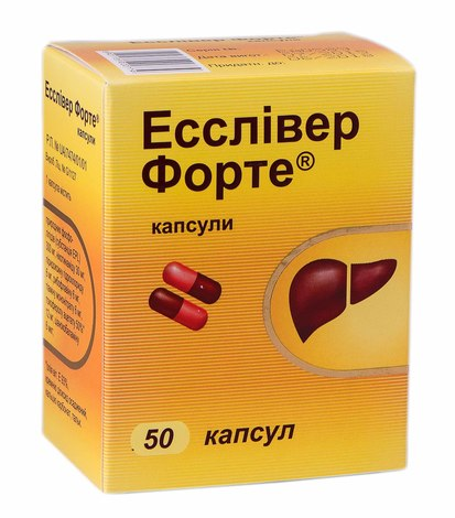 Есслівер Форте капсули 50 шт