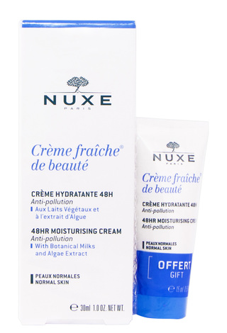 Nuxe Creme Fraiche Крем зволоження 48 годин для нормальної шкіри 30 мл + 15 мл 1 набір