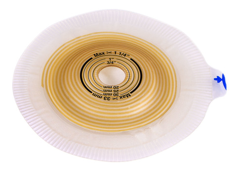 Coloplast Alterna 14282 Калоприймач двокомпонентний пластина Convex light Extra фланець 50 мм 15-33 мм 5 шт
