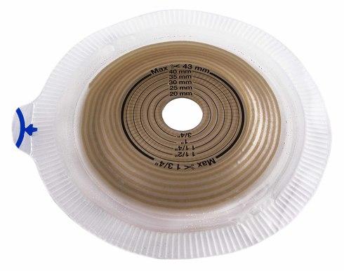 Coloplast Alterna 14283 Калоприймач двокомпонентний пластина Convex light Extra фланець 60 мм 15-43 мм 5 шт