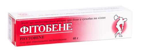 Фітобене гель 40 г 1 туба