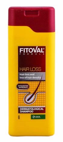 Fitoval Шампунь проти випадіння волосся 200 мл 1 флакон