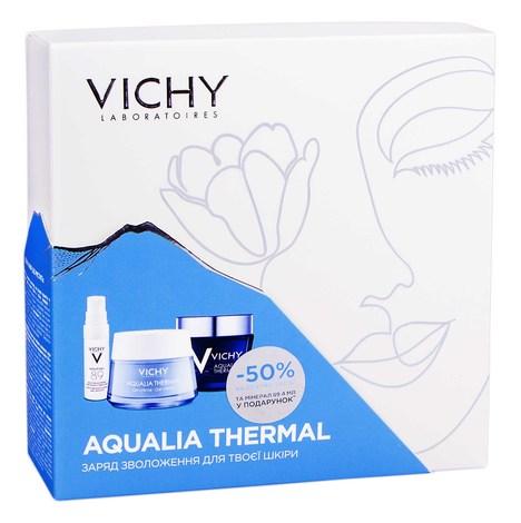 Vichy Aqualia Thermal Mineral 89 4 мл + гель-крем 50 мл + крем-гель нічний 75 мл 1 набір