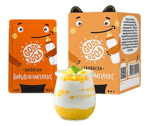 Good Food Закваска бактеріальна Біфідокомплекс порошок 5 пакетів