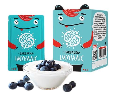 Good Food Закваска бактеріальна Імуналіс порошок 5 пакетів