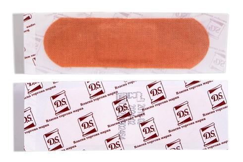 D.S. Пластир бактерицидний на тканинній основі 7,2х2,5 см 1 шт