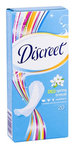 Discreet Deo Spring Breeze Прокладки щоденні 20 шт