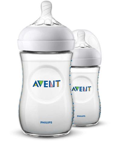 Avent Philips Natural Пляшечка для годування з 1 місяця SCF033/27 260 мл 2 шт