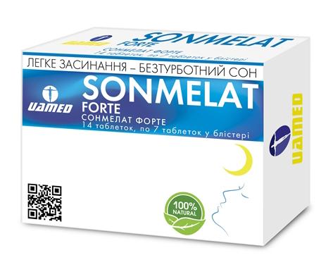 Сонмелат Форте таблетки 14 шт