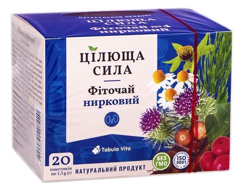 Tabula Vita Цілюща сила Фіточай №4 нирковий 20 пакетиків