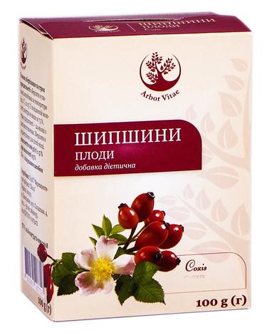 Arbor Vitae Шипшини плоди 100 г 1 пачка