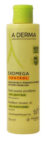 A-Derma Exomega Control Очищувальна олія для атопічної та сухої шкіри 200 мл 1 флакон