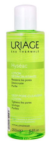 Uriage Hyseac Лосьйон для глибокого очищення пор для жирної шкіри з недоліками 200 мл 1 флакон