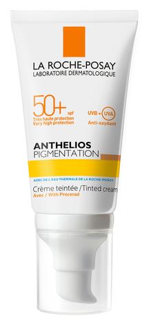 La Roche-Posay Anthelios Крем сонцезахисний з тонуючим ефектом для шкіри схильної для гіперпігментації SPF-50+ 50 мл 1 туба