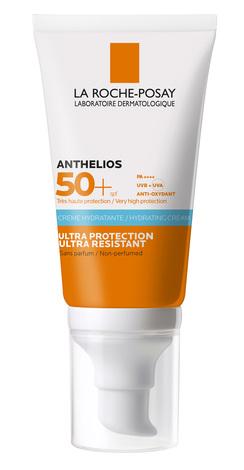 La Roche-Posay Anthelios Ultra Крем сонцезахисний для чутливої шкіри обличчя навколо очей SPF-50+ 50 мл 1 туба