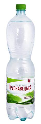 Трускавецька Вода мінерально-столова слабогазована 1,5 л 1 пляшка